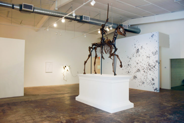 This Is The Future, installation view